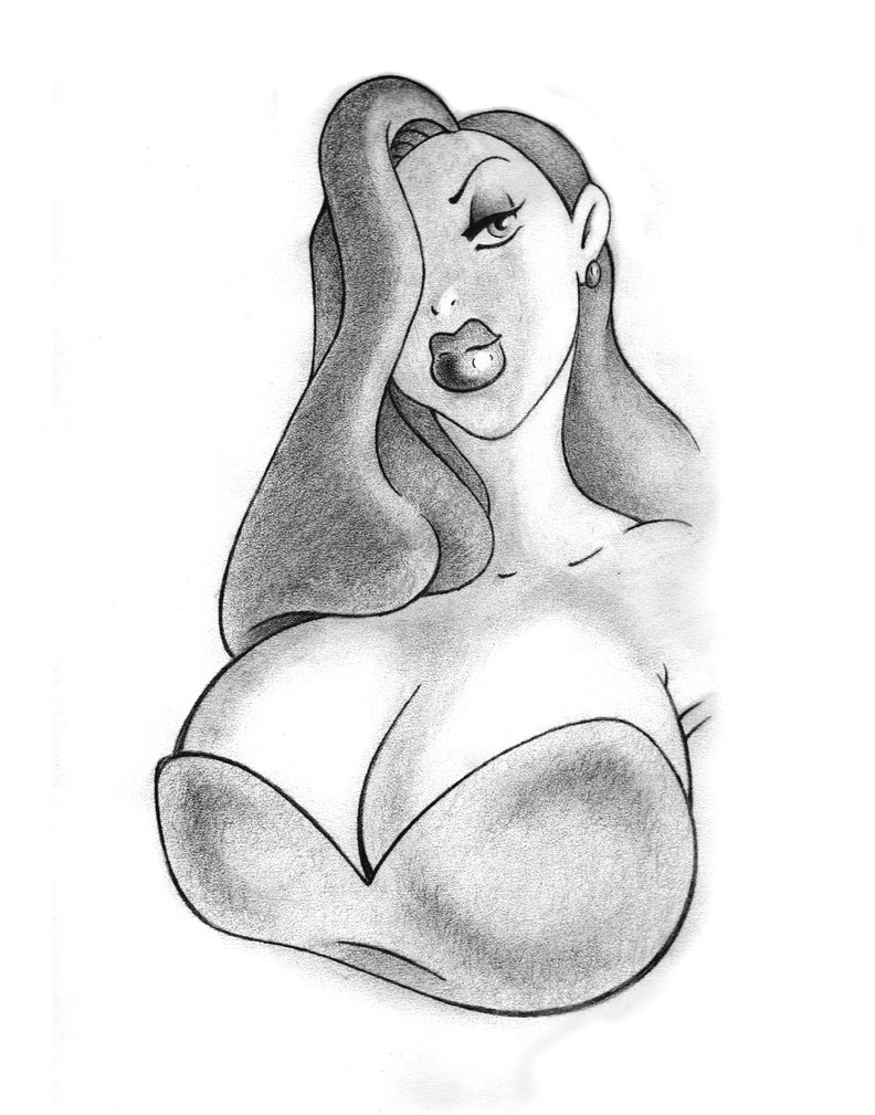 Big tits drawings