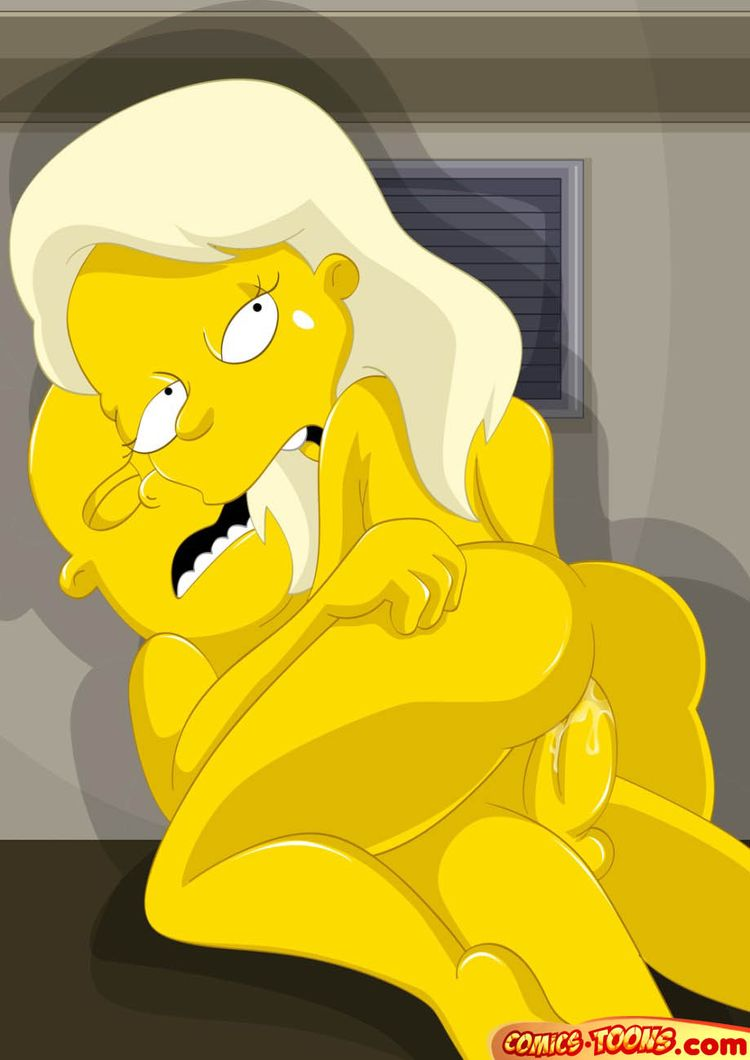 Are Nude boobs in simpsons join told