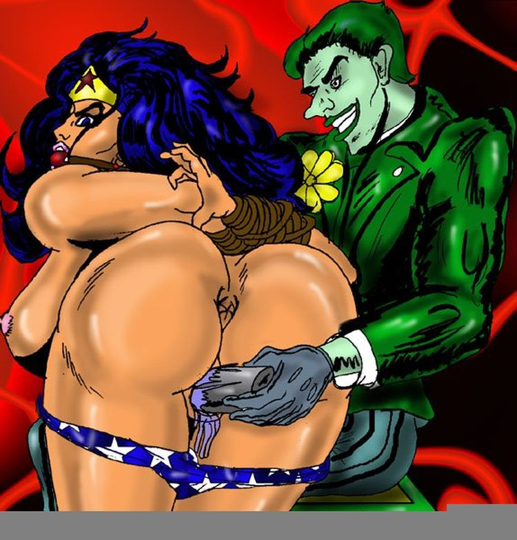 Aside! Sexy super hero cartoon nudes