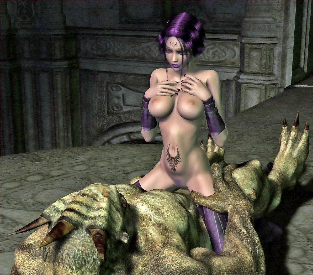 Elf girl massive cock porn comics