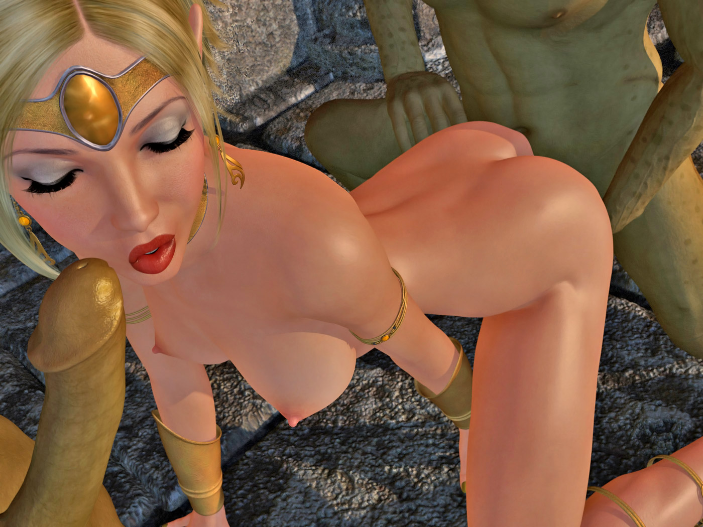 Pic elv princess and monsters xxx 3d  porno video