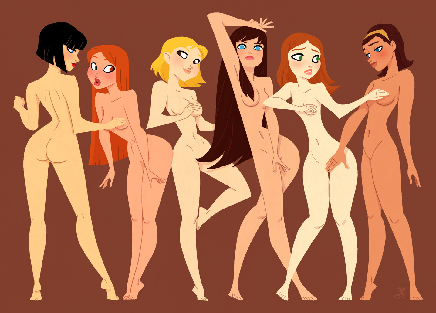 Sexy cartoon erotic photo