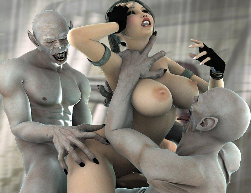 3д порно комиксы с монстрами
