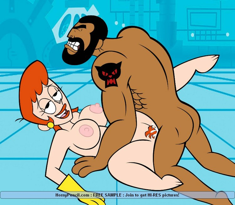 network naked Cartoon characters