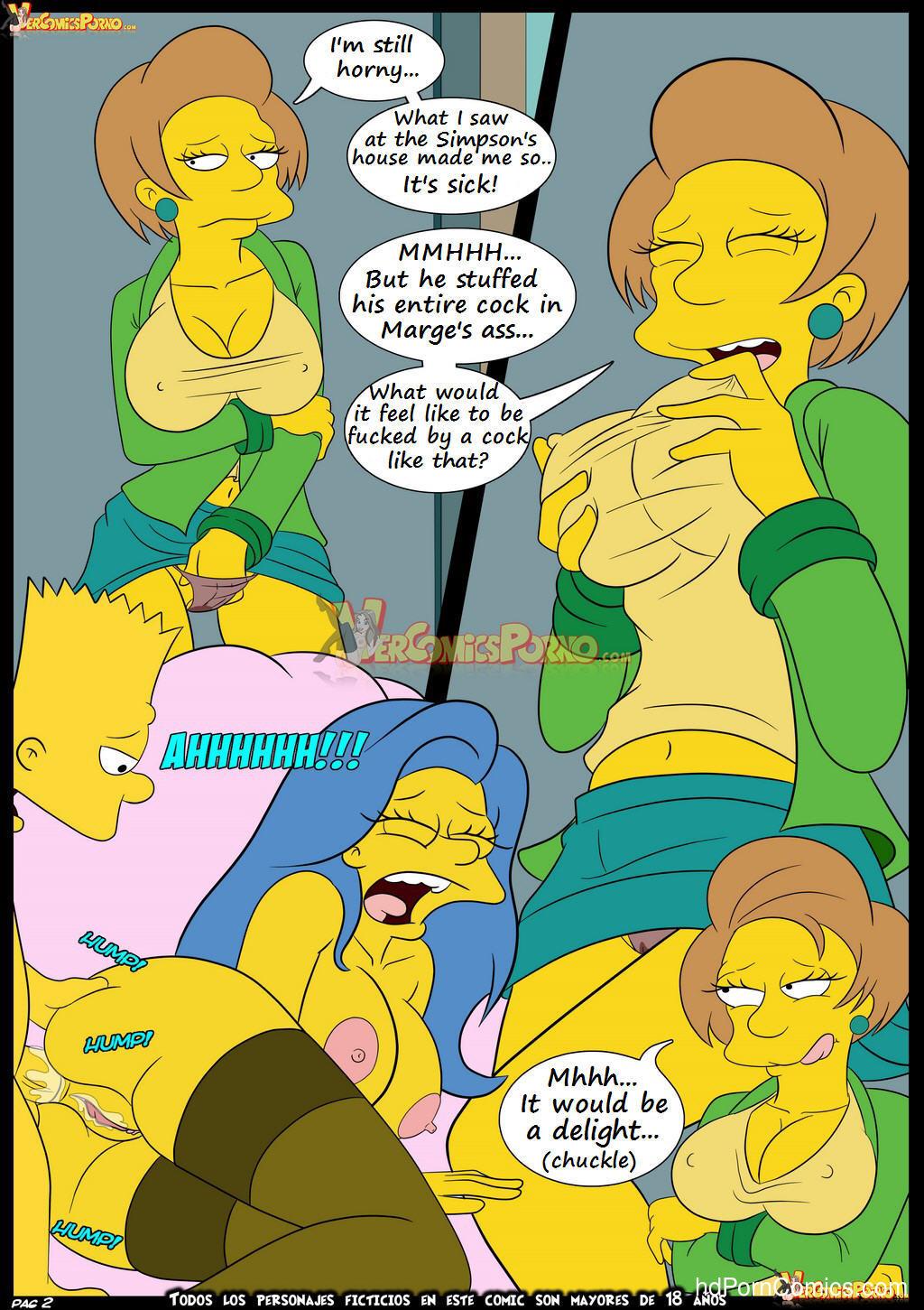 Cartoon sex comics simpsons free