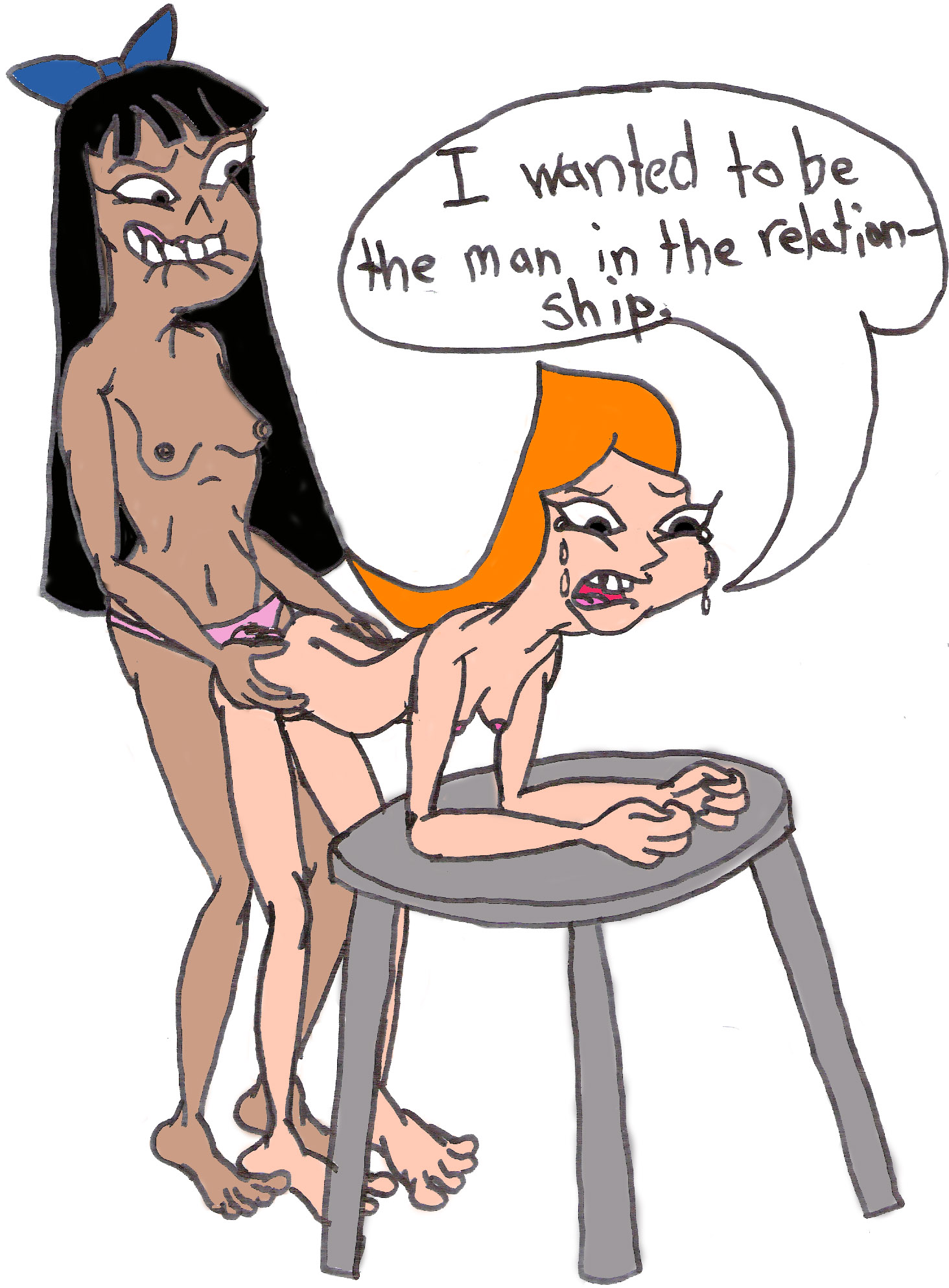 Sexy naked phineas and ferb candace simply matchless