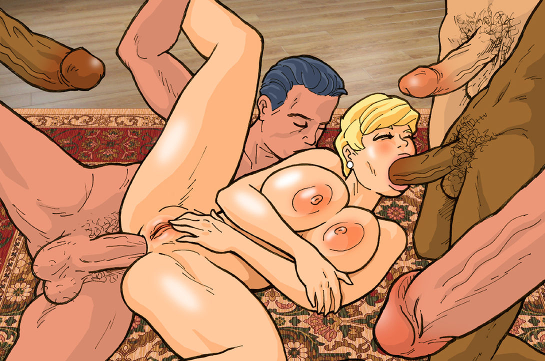 free adult comic galleries