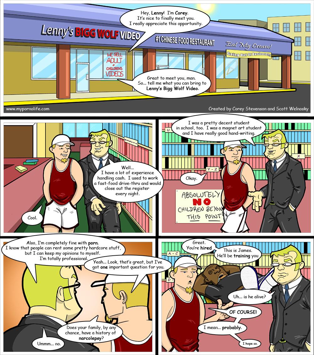 Toon porn comic strips