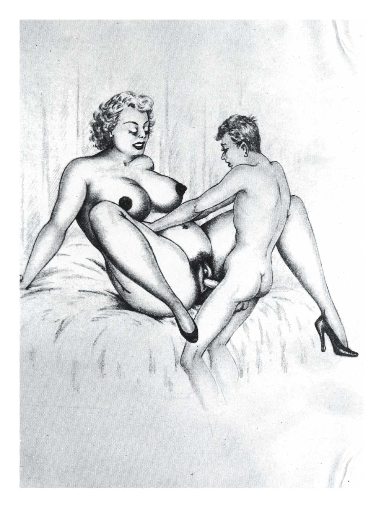 Bw porn drawings sketches smut galleries