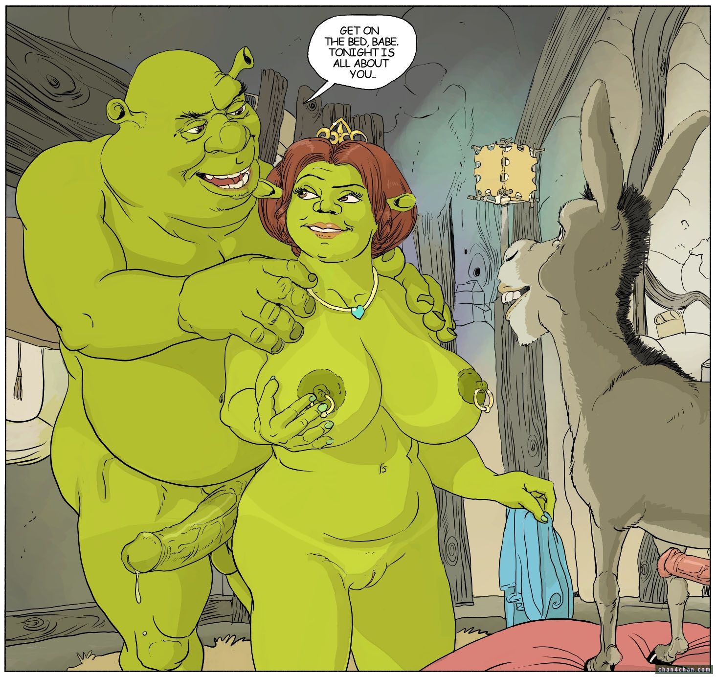 Shrek fucks erotic videos