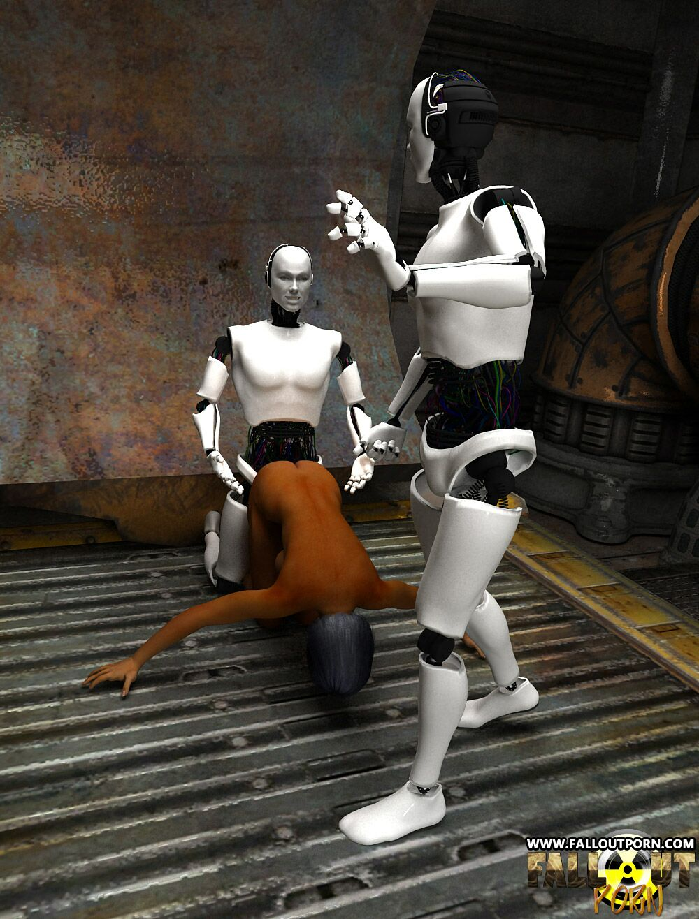 Toon sexy naked robot girls porn clips