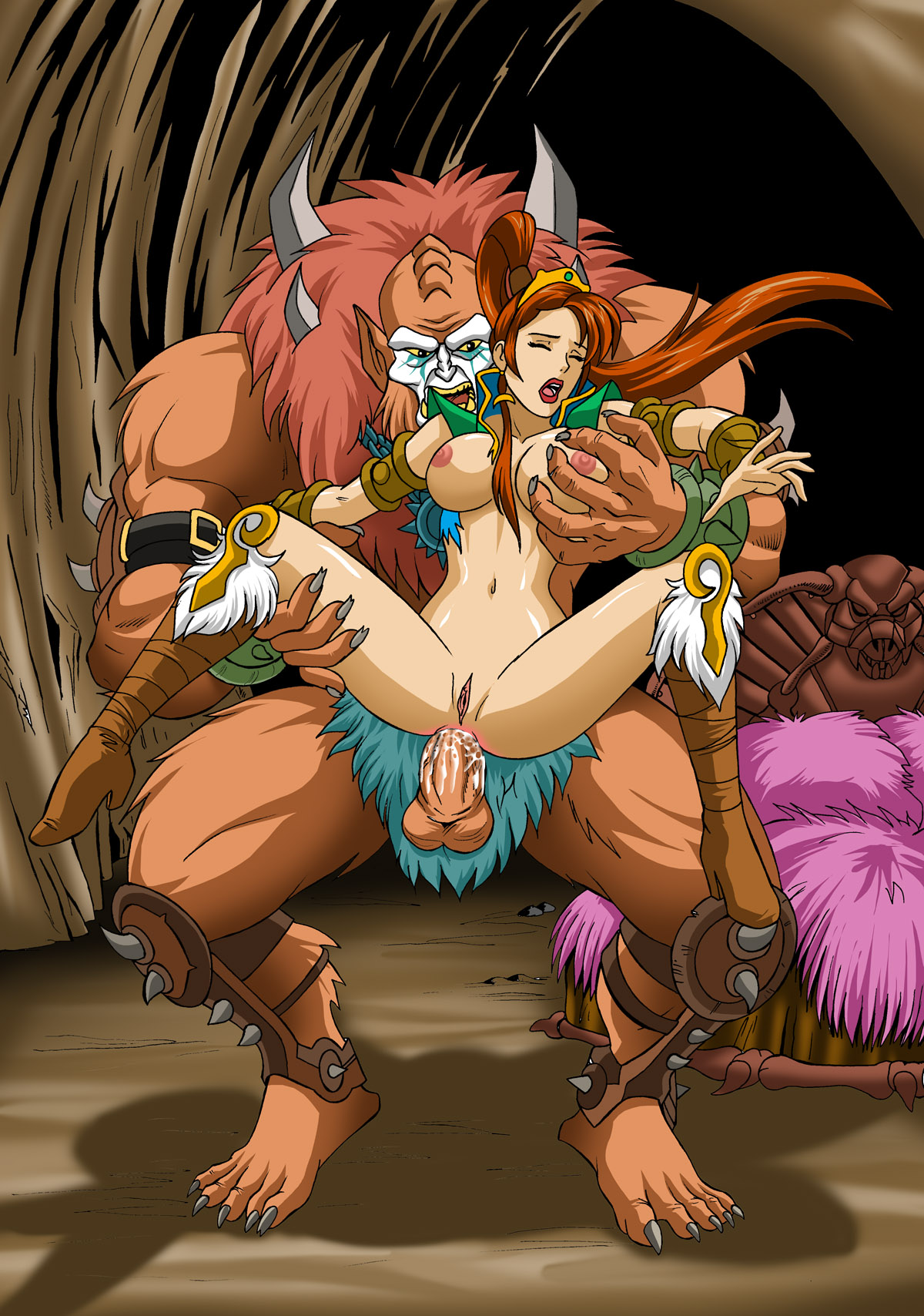 Free monster girl cartoon porn pictures naked toons