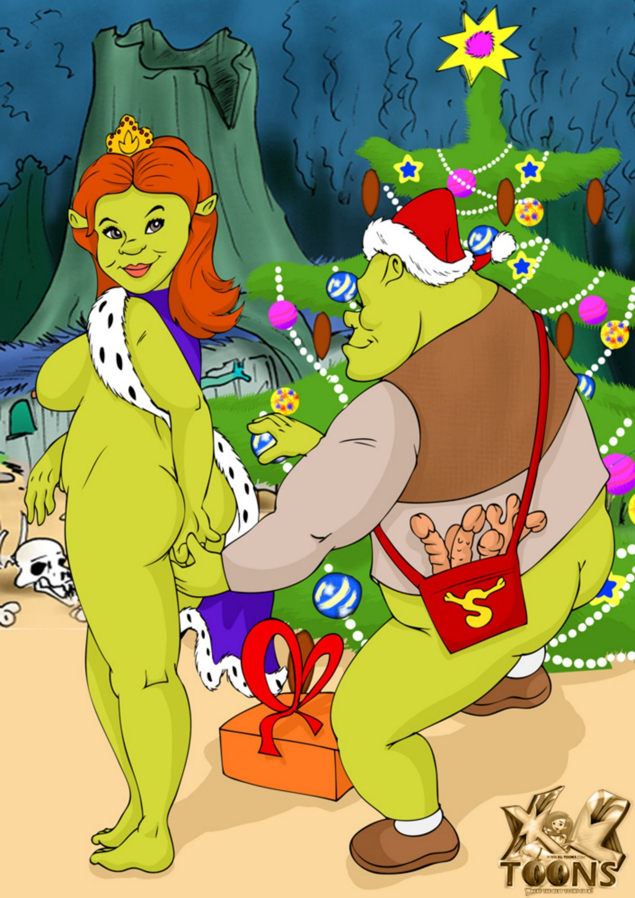 Shrek and fiona nude photo anime films