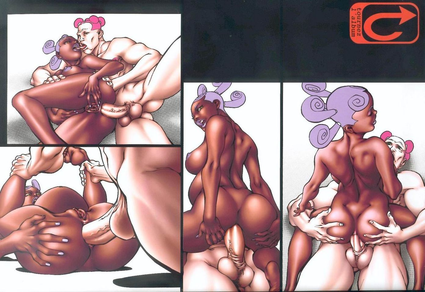 Cartoon xxx 3d in naked picture