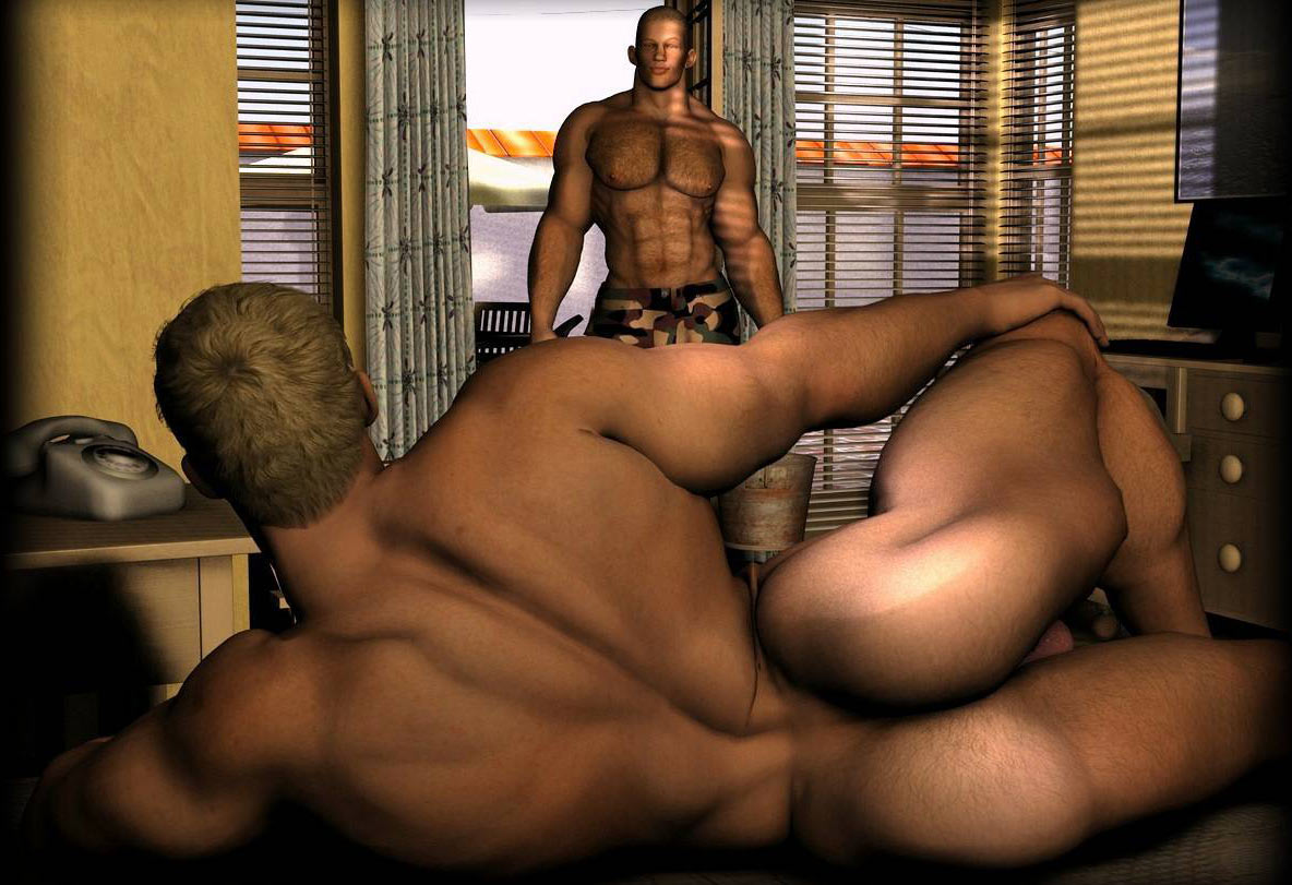 Animated 3d muscle man fucks girl porncraft reality angel