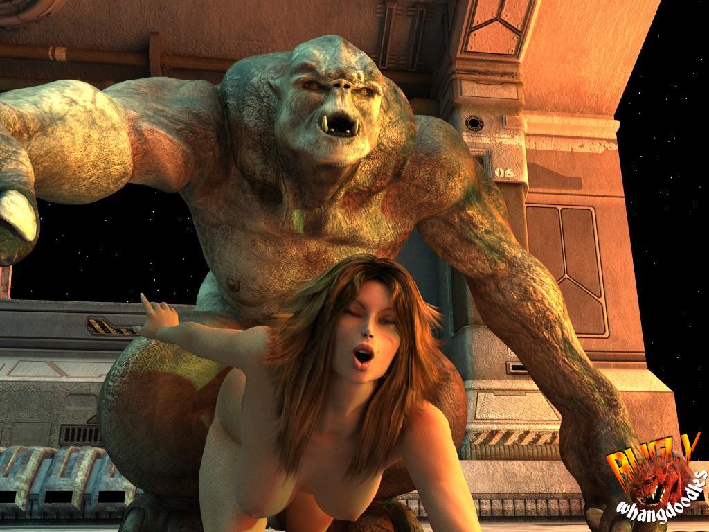 Секс с монстром без смс 24 фотография