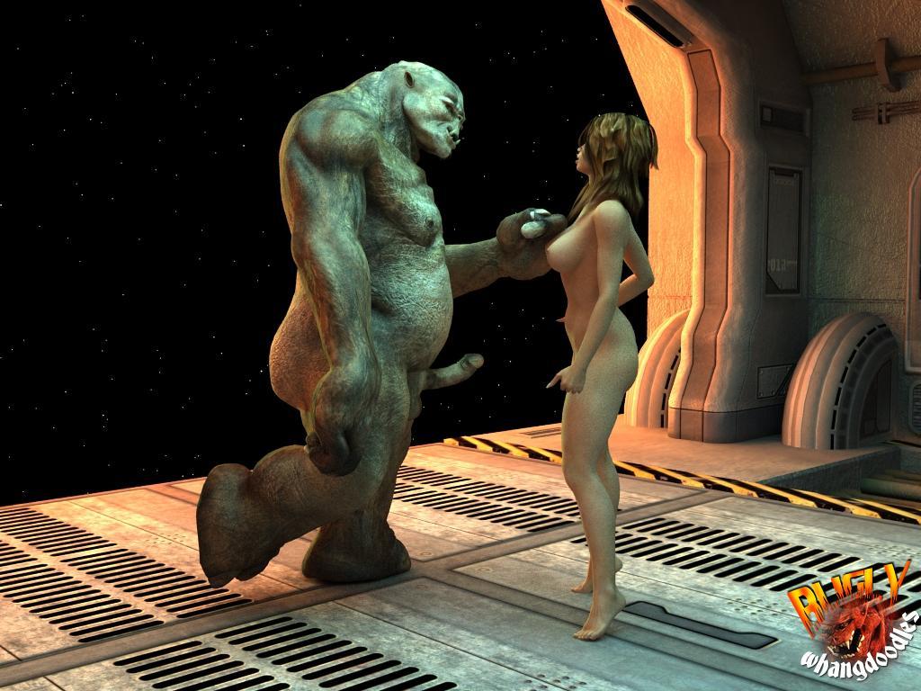 Секс с пришельцем из космоса