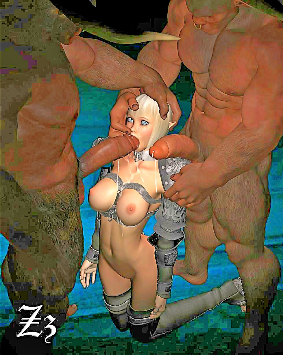 Nude cartoon girls fucked by monsters naked picture