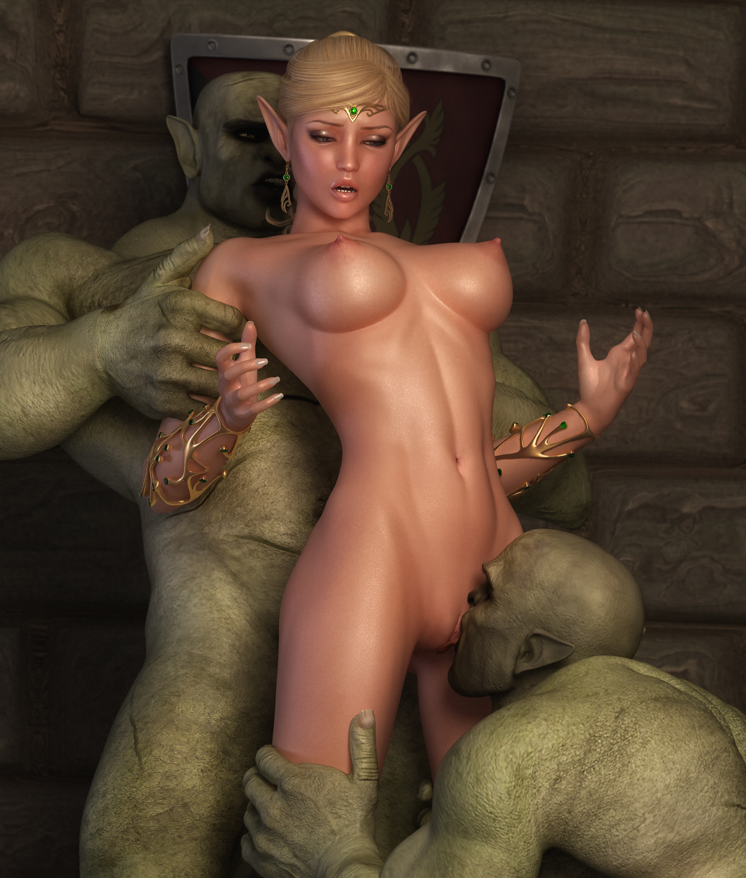 Monster fucks elves sexual pic
