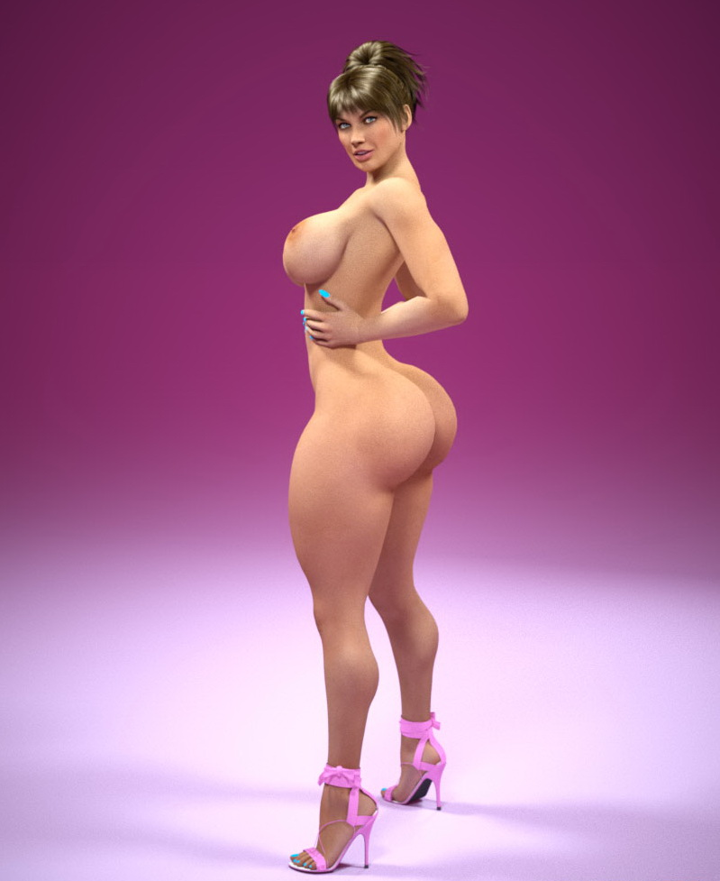 black cartoon ass Big woman