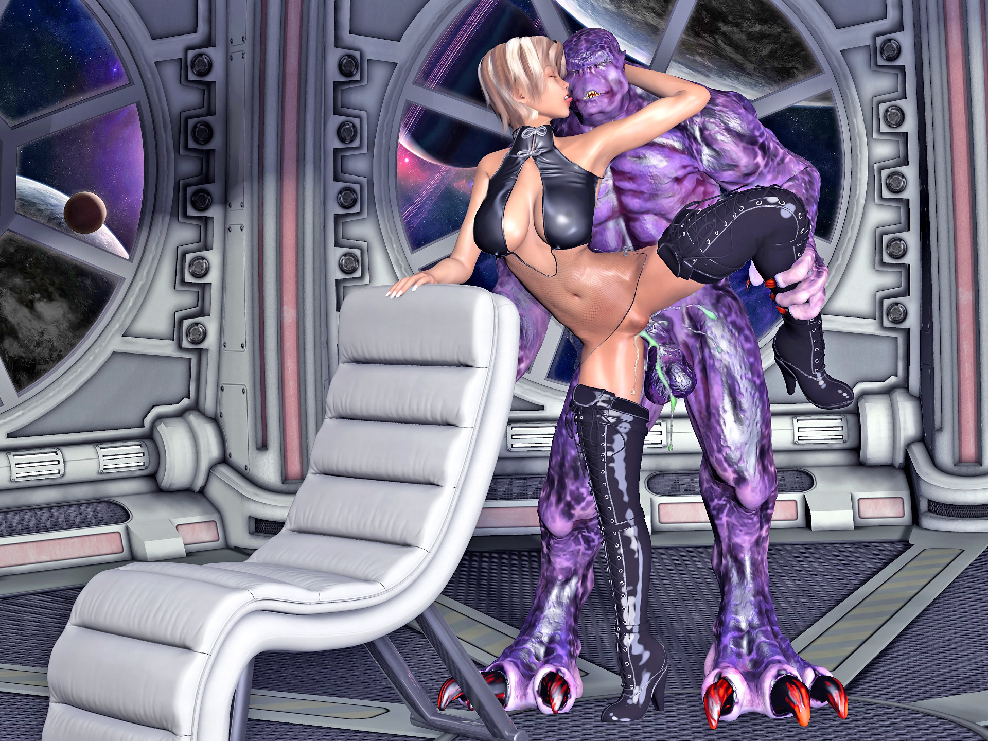 Sexynude toon fucked by monster aliens pic hentai photos