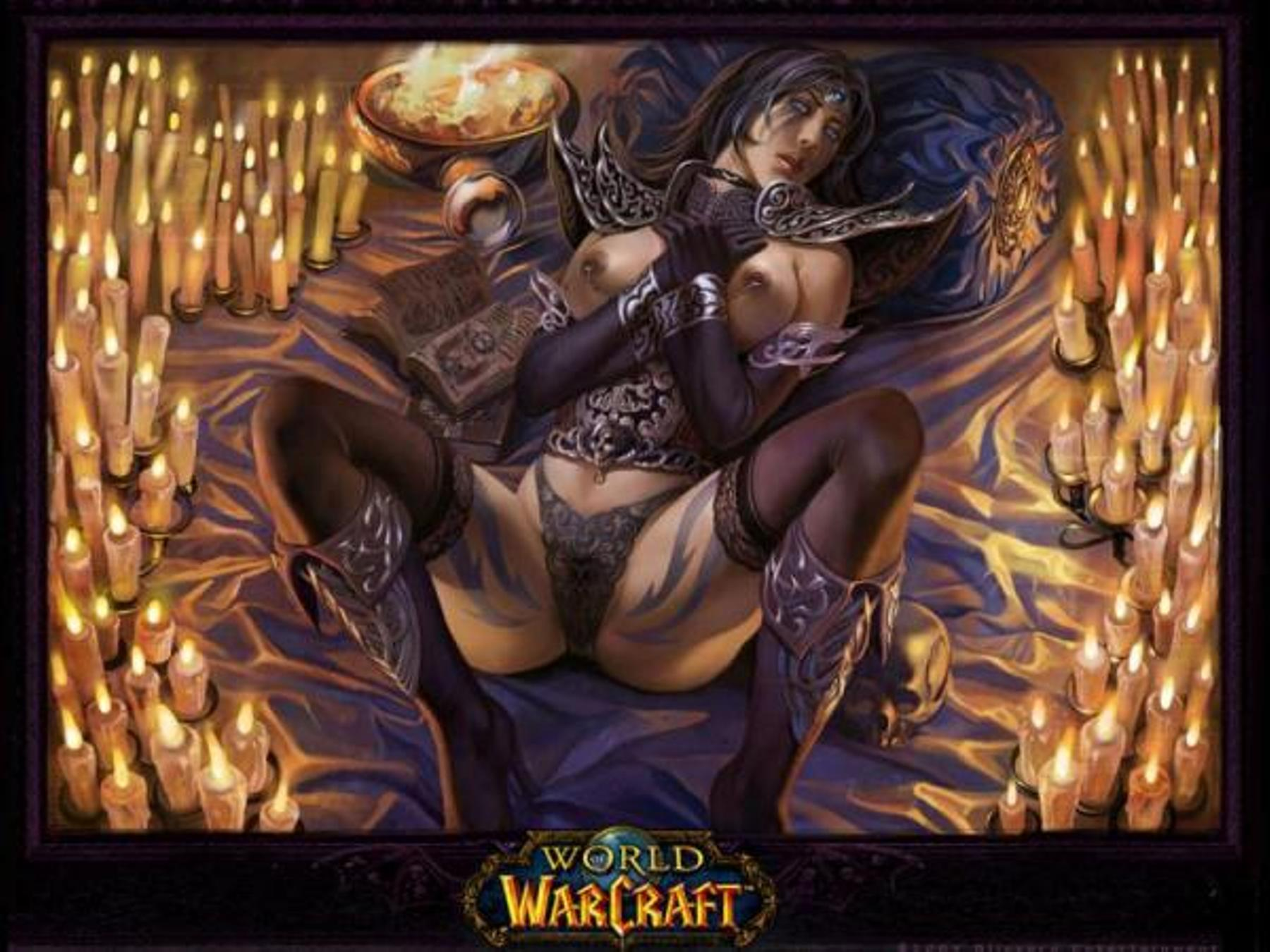 Sexy warlock adult photo