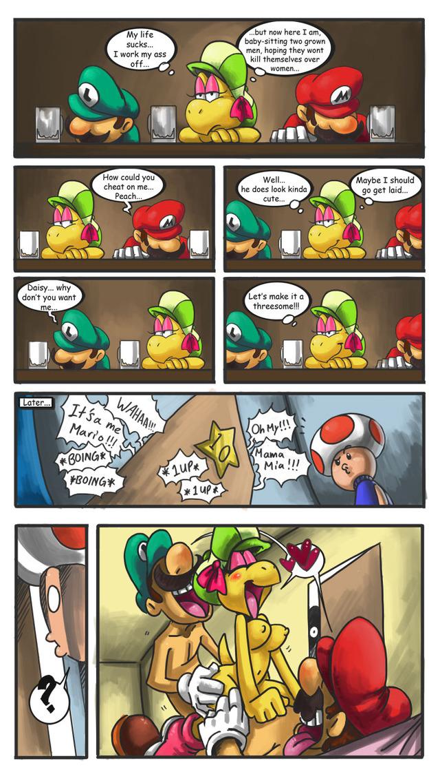 Super Mario Gay Porn