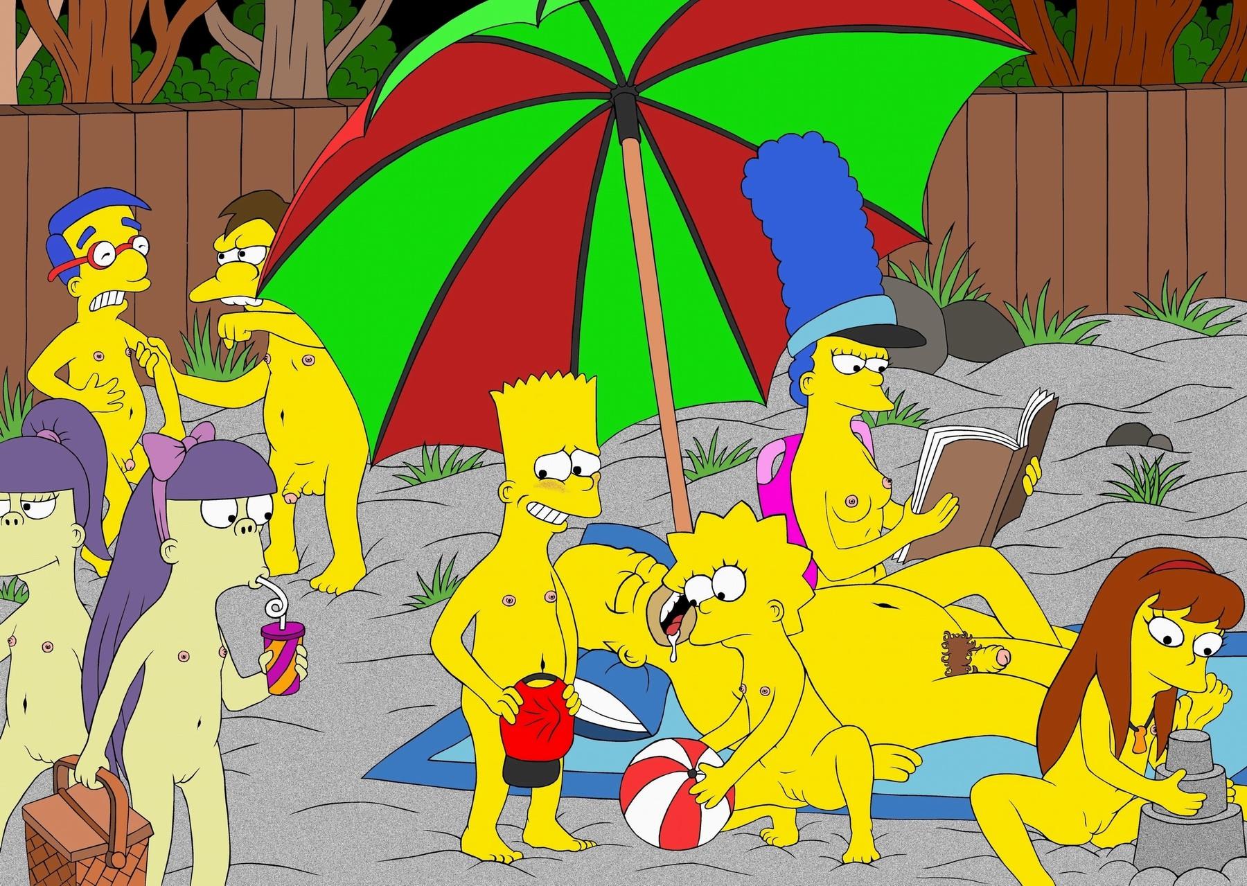 Симпсоны меги и лиза порно 7 фотография