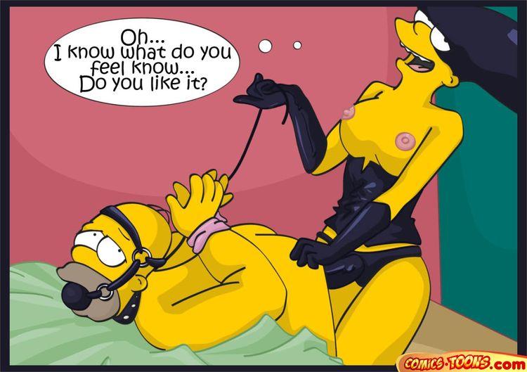 жестокие порно комиксы симпсонов
