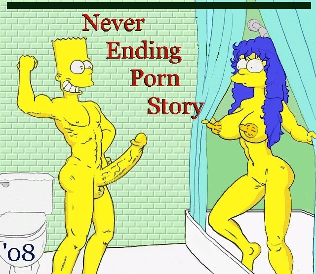 the simpsons toon porn pics hentai porn simpsons comics story never ending