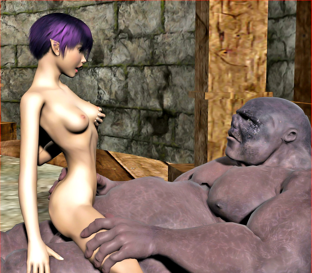 3d animated monster cock pics hentia photo