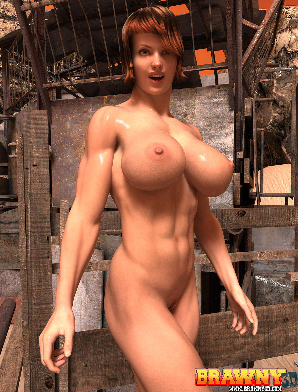 Sweet 3d nude sexy photo