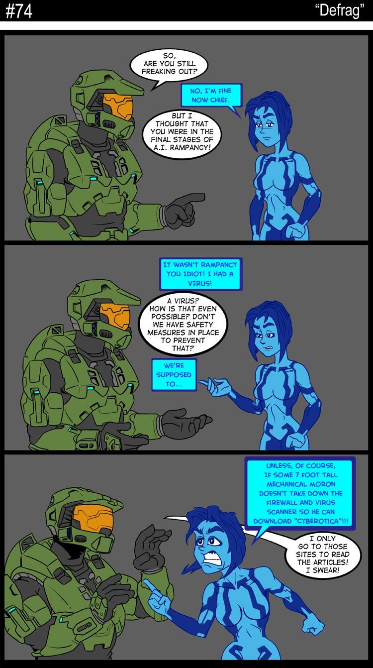 elite porn comics Halo