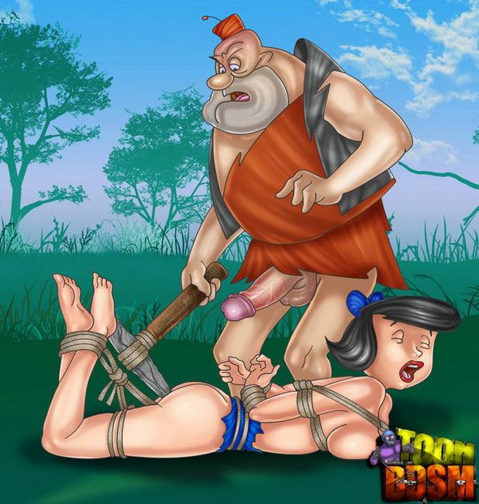 Порно фото каменный век