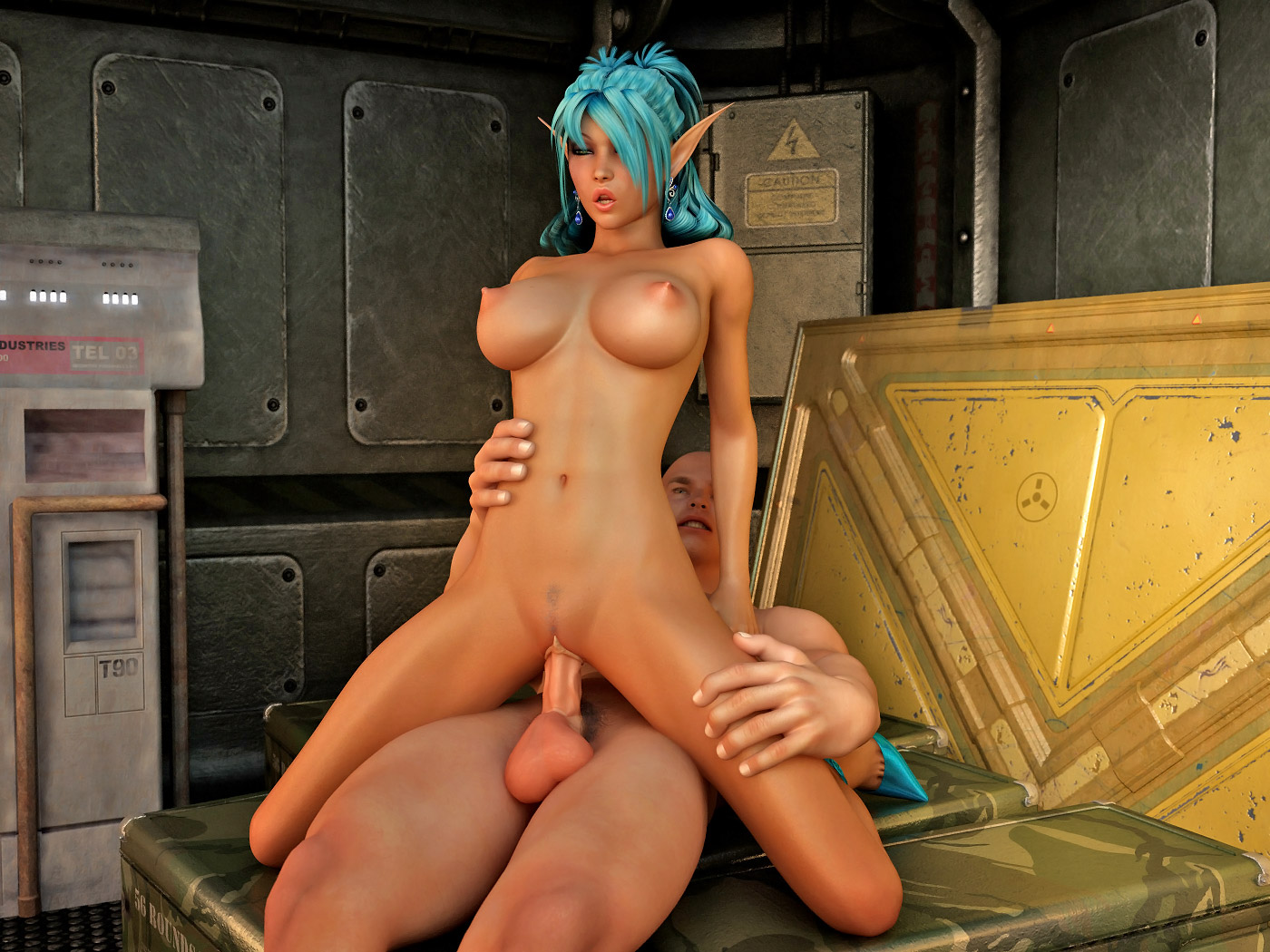 Elf empire nude exposed scene