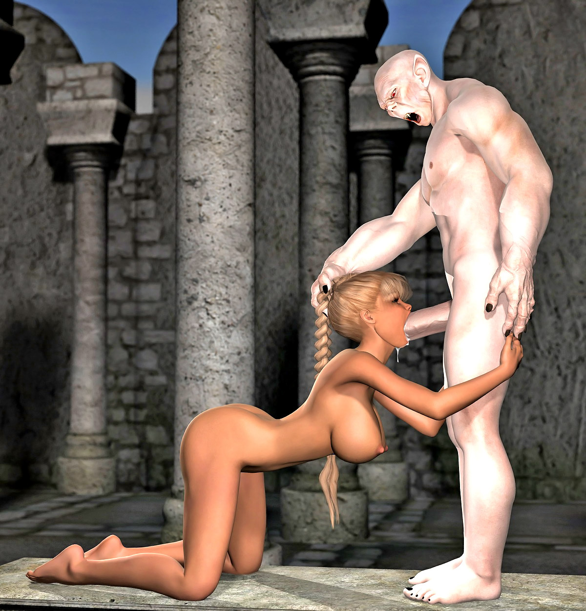 Sexy naked demon lady sex scenes