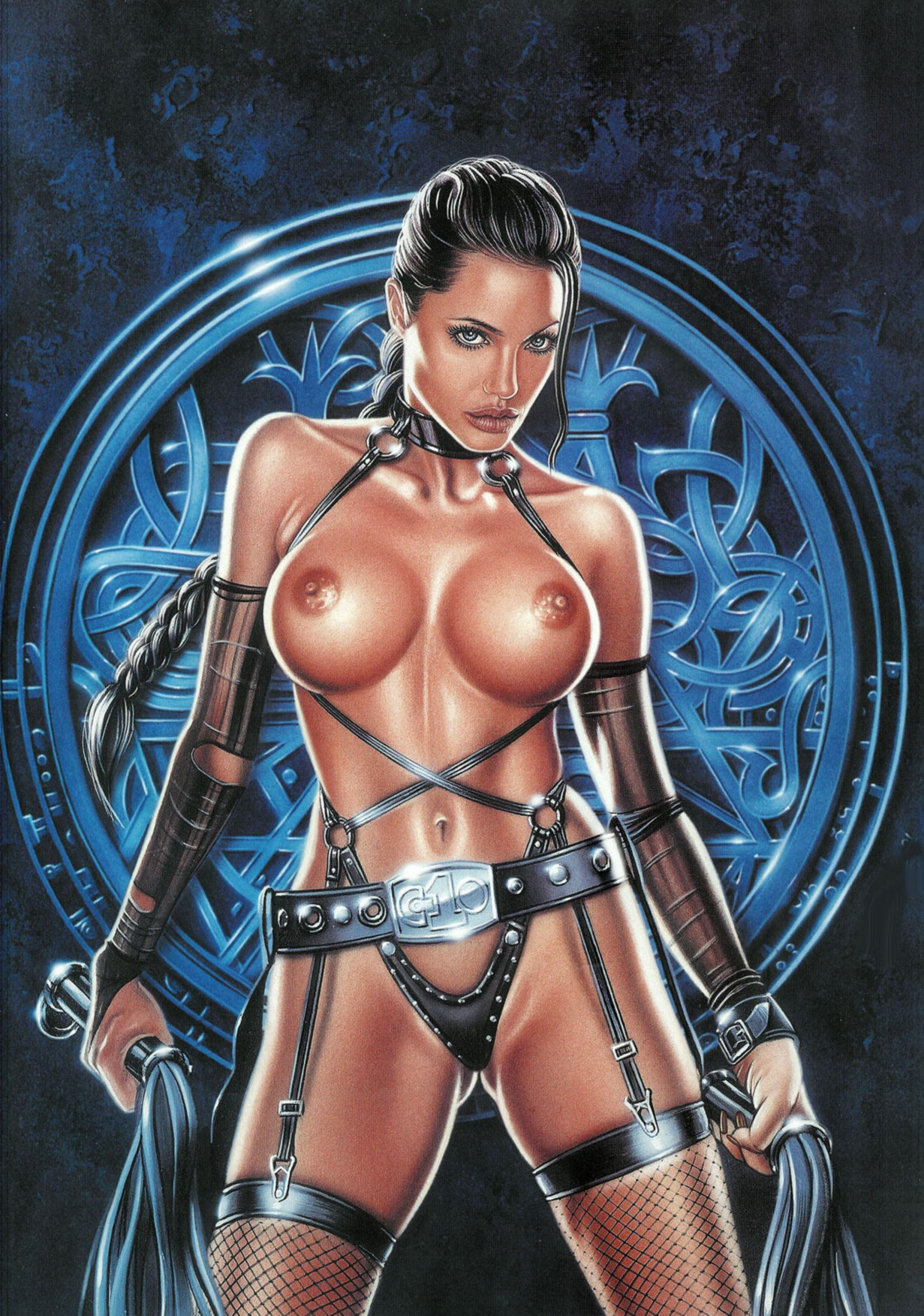 Lara croft naked cartoon sexy movie