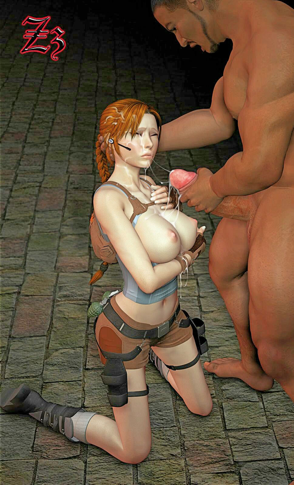 Lara croft sex with midget hentia erotic image
