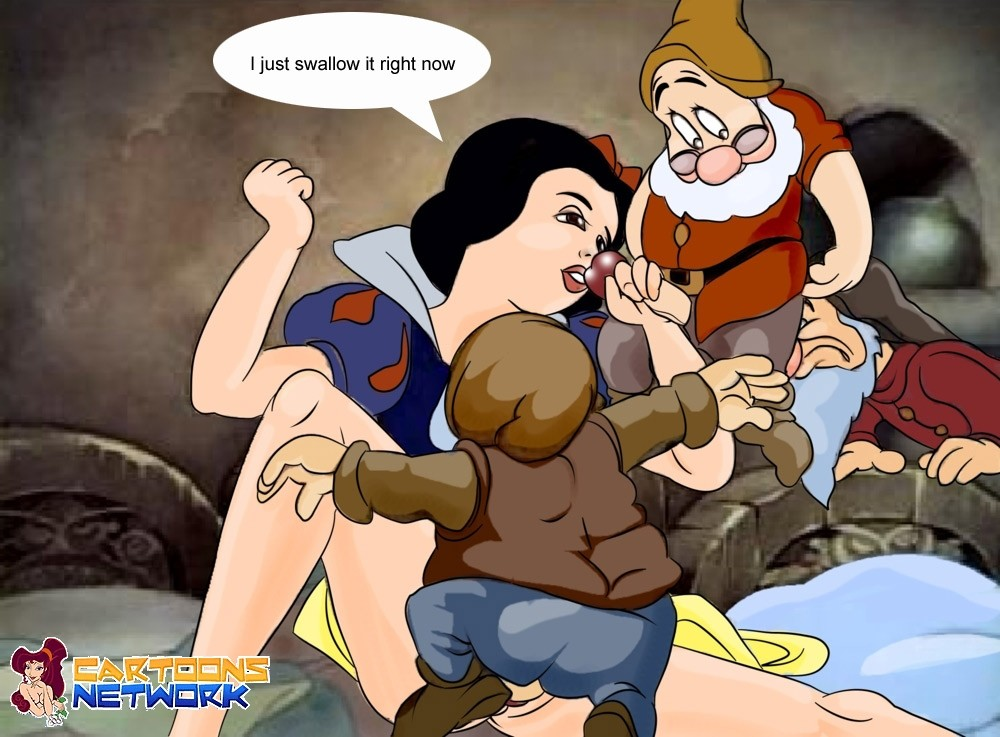 Accept. interesting Snow white and the seven dwarves porno pity, that