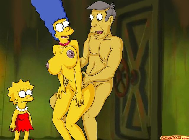 adult porn toons simpsons comics cartoon adult