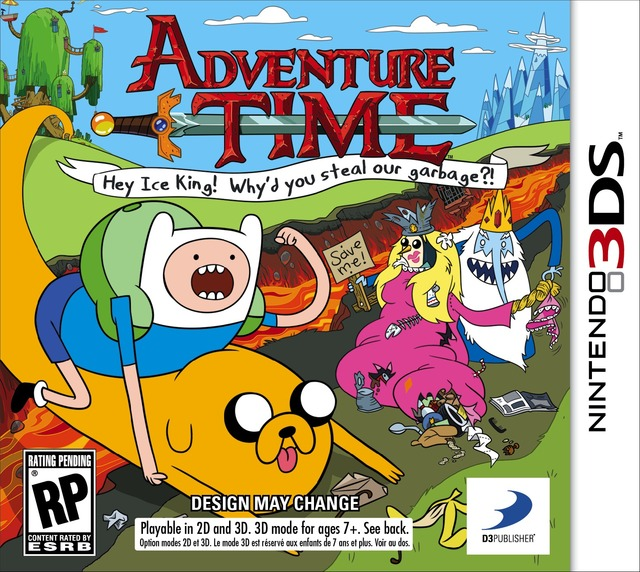 adventure time porn art time game box nintendo confirms adventure wayforward
