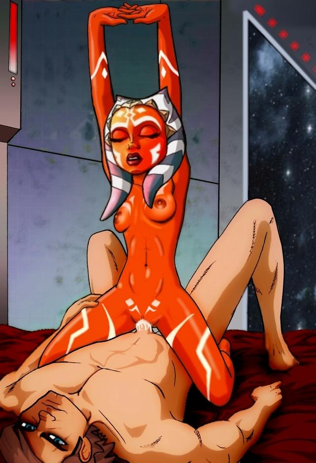 star wars cartoon porn video
