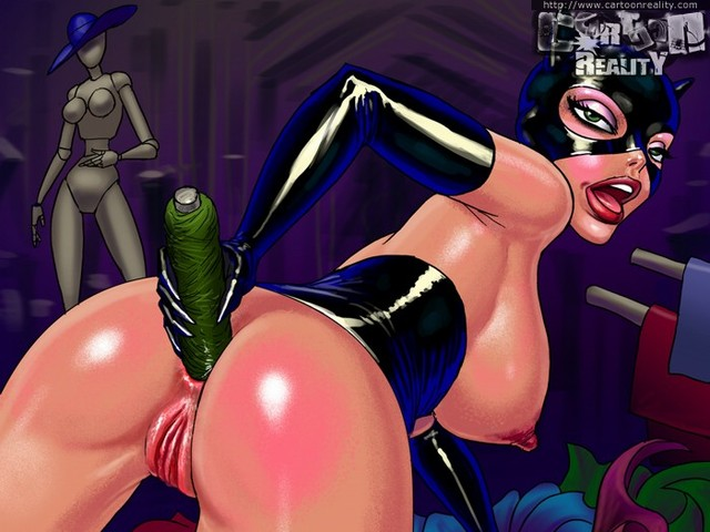 anal cartoon porn pictures batman