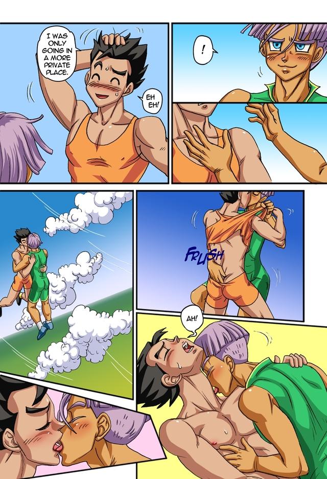 Комиксы аниме геи