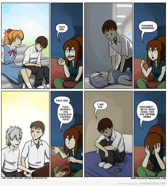 anime sex comic pics funny comics comic miss evangelion critical