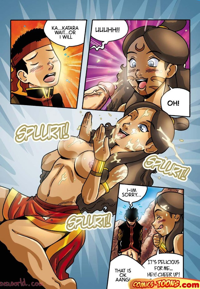 комиксы порно катара