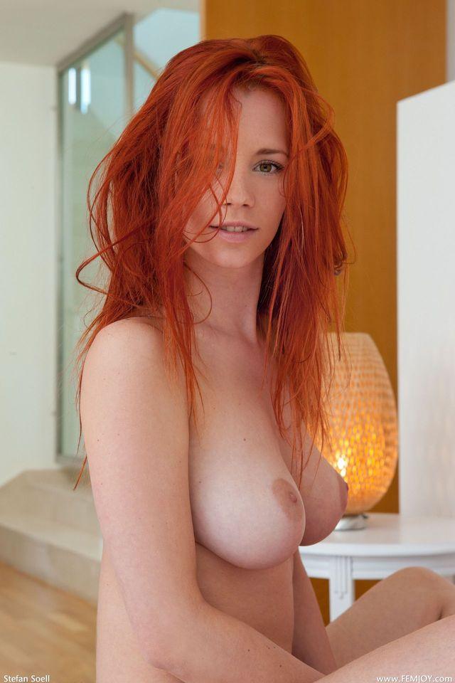 порно фото рыжих с большими сись