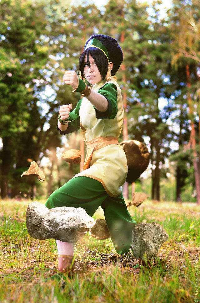 avatar the last airbender toph nude channel earth bending tophwei pfl nerdist