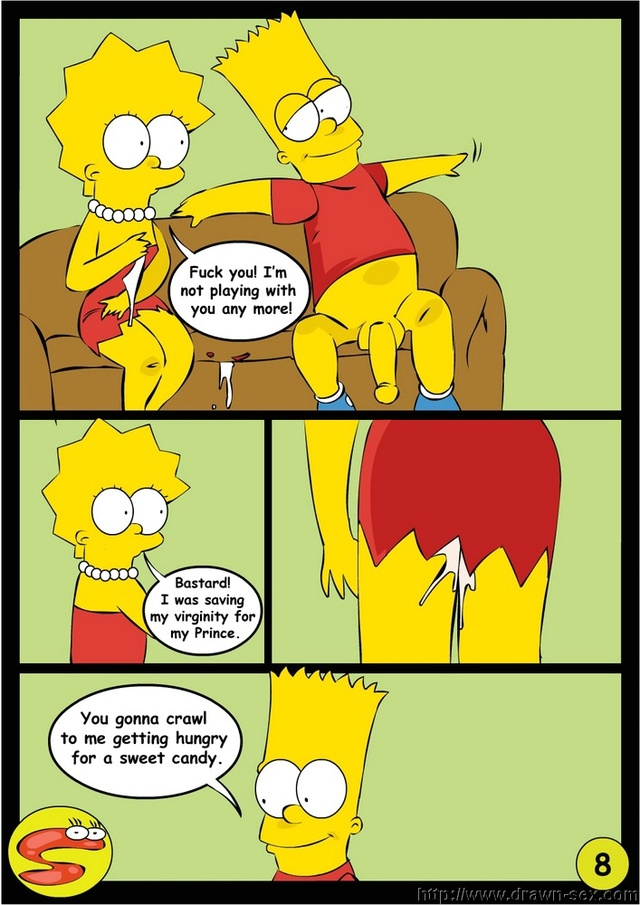 bart and lisa porn hentai simpsons comics lisa bart