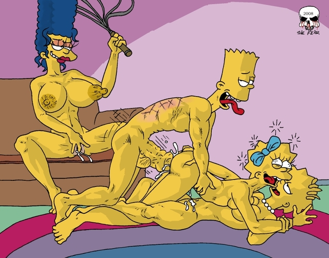 Lisa Simpson Porn Simpsons Marge Bart Fear Dbd Maggie